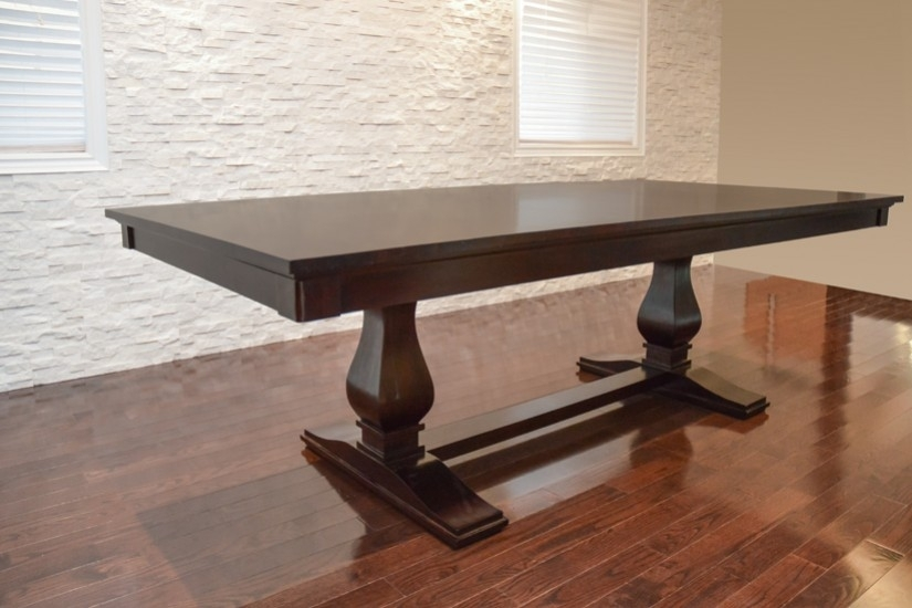 Cambridge Dining Table | Anne Quinn Solid Wood Furniture In Toronto In Cambridge Dining Tables (View 18 of 25)