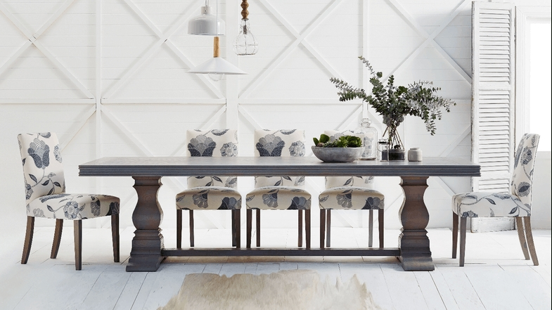 Cambridge Herringbone Dining Table | Domayne | Interior Deco Intended For Cambridge Dining Tables (Image 15 of 25)
