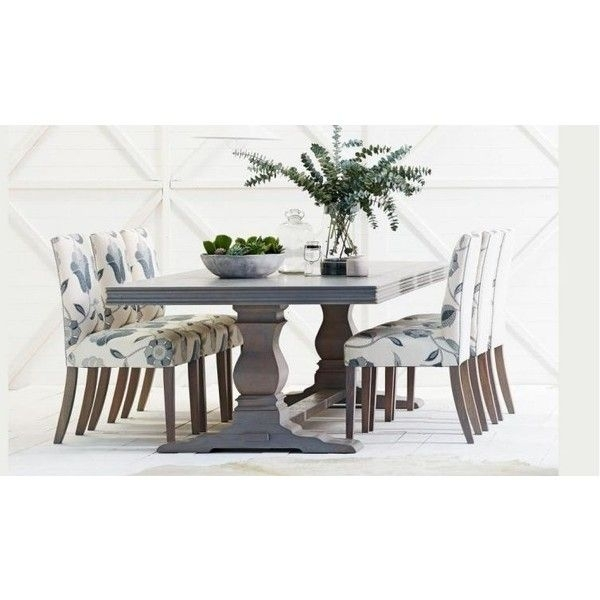 Cambridge Herringbone Dining Table ❤ Liked On Polyvore Featuring In Cambridge Dining Tables (Image 16 of 25)