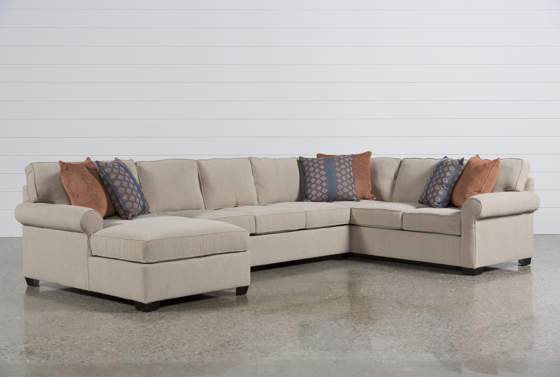Camilla 3 Piece Sectional W/laf Chaise | Couches | Pinterest Pertaining To Glamour Ii 3 Piece Sectionals (Image 6 of 25)