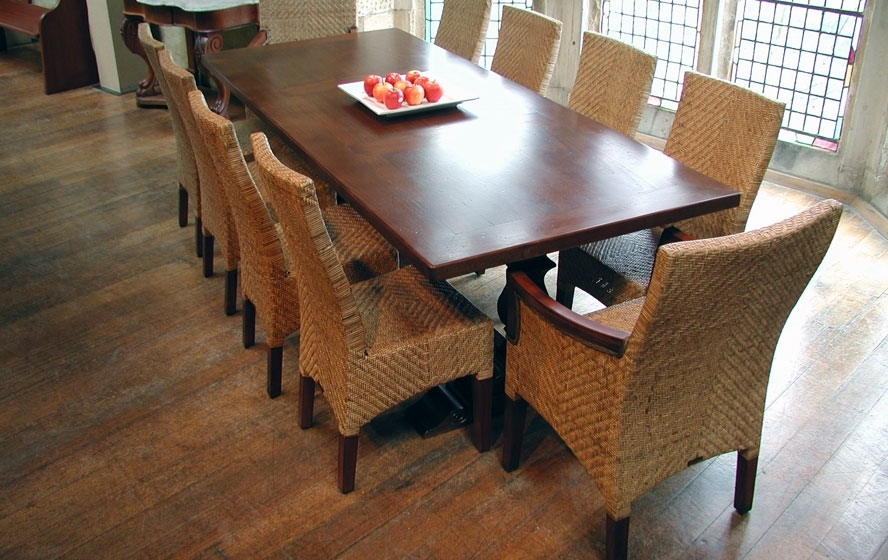Cane Dining Furniture | Camberwell Cane Melbourne Within Oak Dining Suites (Image 3 of 25)