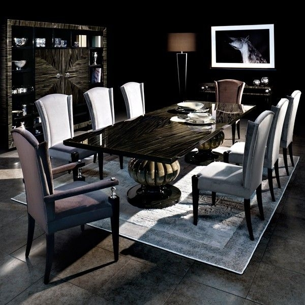 Capital Decor // Kemp Dining Table – Statement Classic Dining Table In Cream Lacquer Dining Tables (Image 5 of 25)