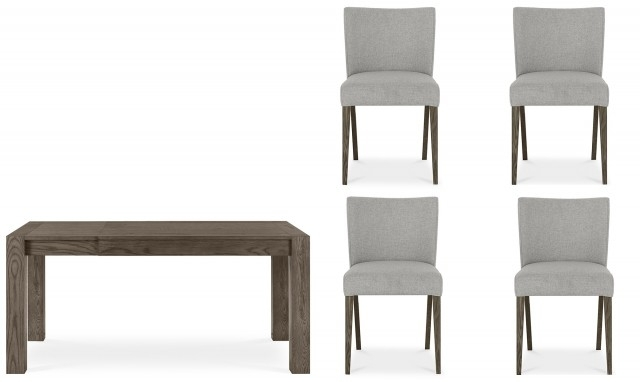 Capri – Small Extending Dining Table And Chairs – Fishpools For Small Extending Dining Tables And Chairs (View 20 of 25)