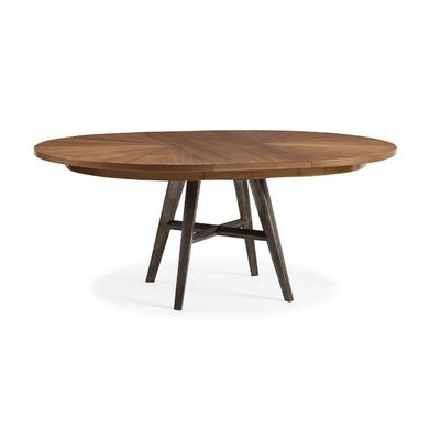 Caracole Modern Craftsman Round Extension Dining Table | Modern For Craftsman Round Dining Tables (Image 6 of 25)