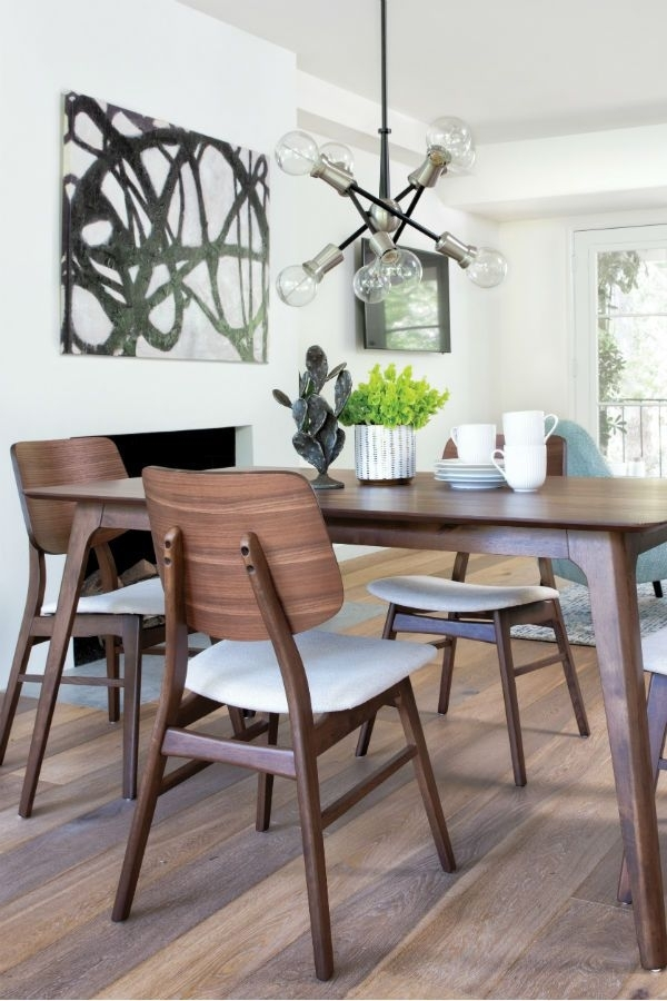 Carly 5 Piece Rectangle Dining Set In 2018 | Dining Rooms Within Hyland 5 Piece Counter Sets With Bench (Image 7 of 25)