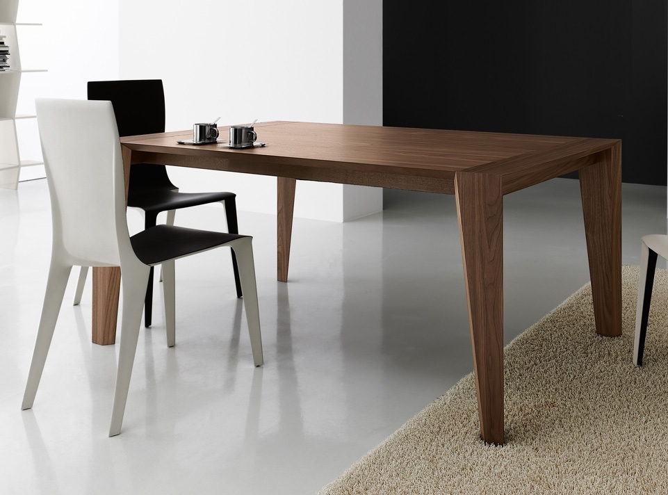 Carve Dining Table | Dining Tables | Contemporary Dining Furniture Inside Contemporary Dining Tables (Image 6 of 25)