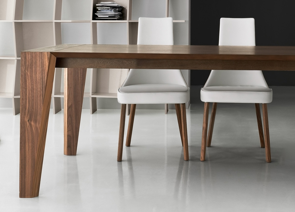 Carve Dining Table | Dining Tables | Contemporary Dining Furniture Throughout Contemporary Dining Tables (Image 7 of 25)