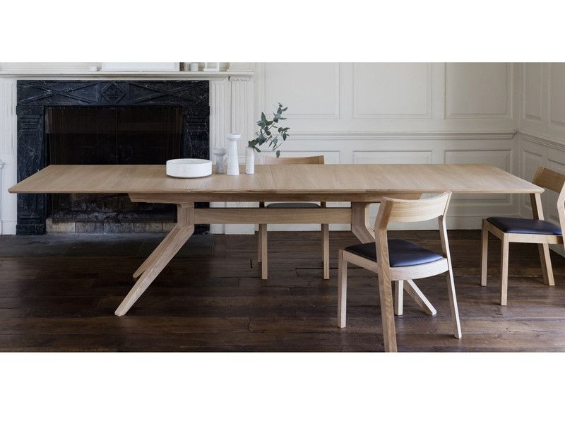Case Furniture Cross Extending Dining Table | Pinterest | Dining Intended For Rocco Extension Dining Tables (Image 6 of 25)
