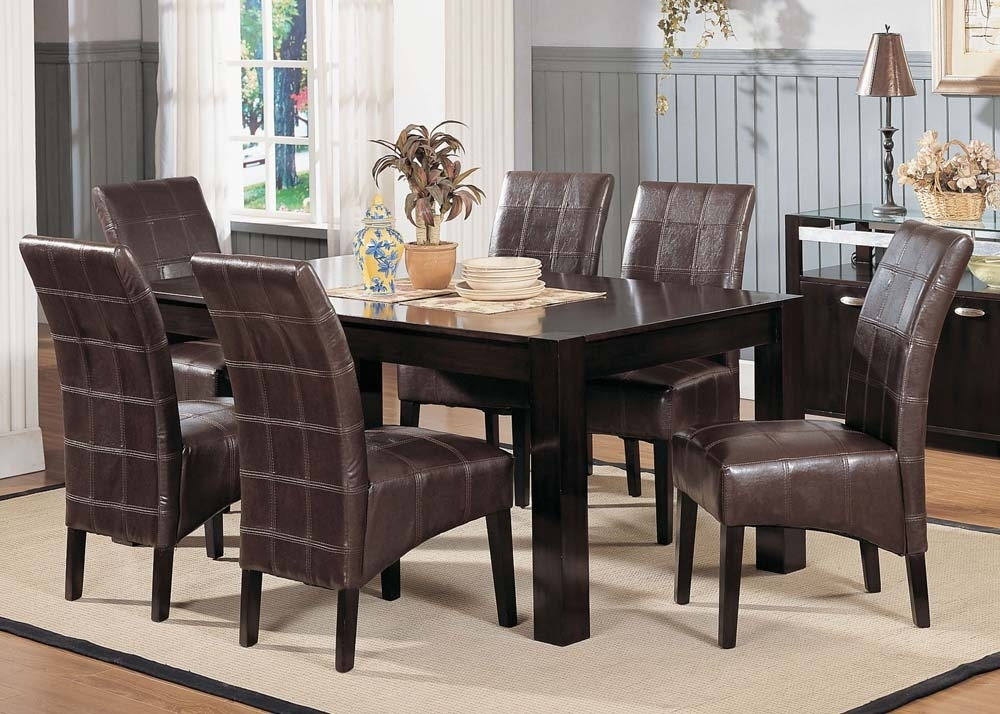 Casual : Furniture Warehouse One, Dallas Fort Worth Metroplex With Market 7 Piece Dining Sets With Side Chairs (Image 7 of 25)