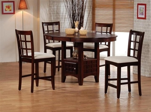 Catchy 5 Piece Dining Set 5 Piece Dining Set Wood Breakfast Regarding Macie 5 Piece Round Dining Sets (View 24 of 25)