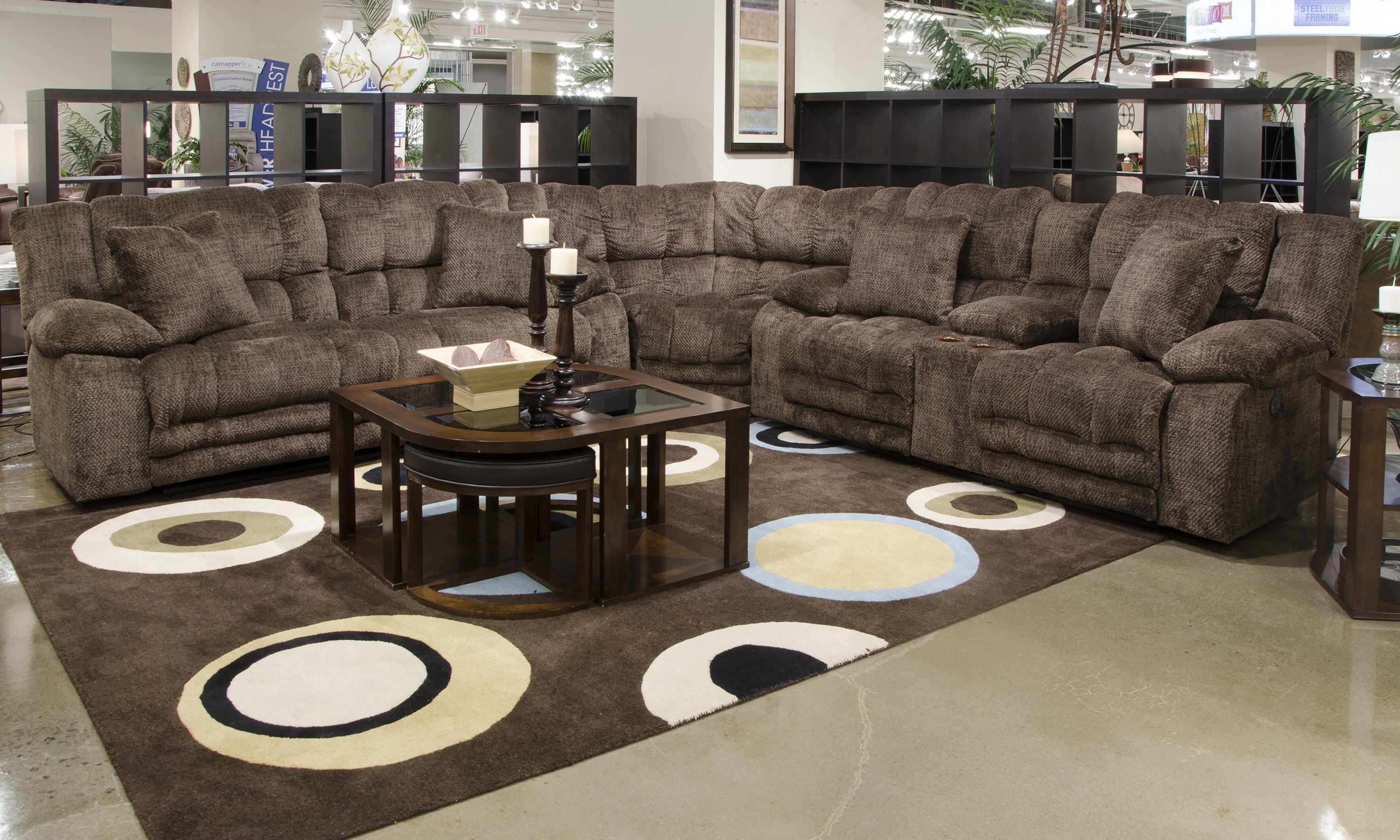 Catnapper Branson Reclining Sectional | Wayfair Throughout Karen 3 Piece Sectionals (View 18 of 25)
