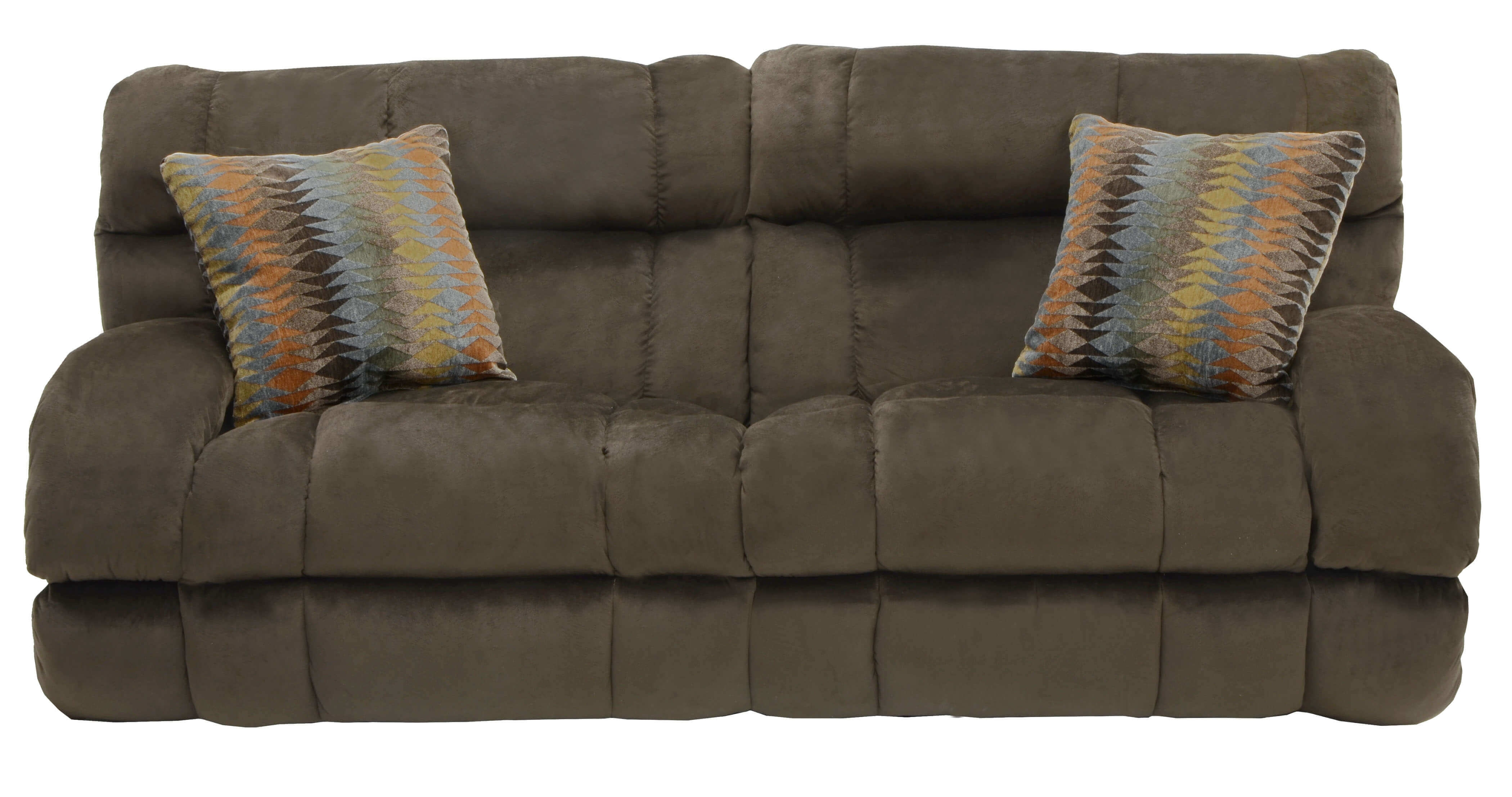 Catnapper Siesta Reclining Sofa | Delano's Furniture And Mattress With Delano Smoke 3 Piece Sectionals (Image 5 of 25)