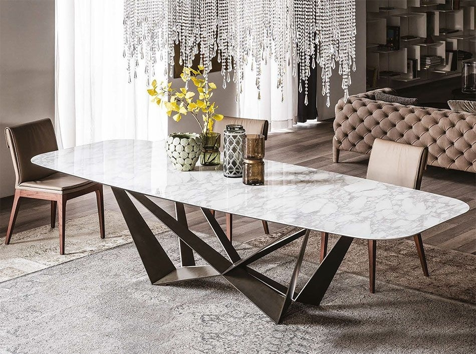 Cattelan Italia Skorpio Keramik Italian Dining Table – $4, (Image 5 of 25)
