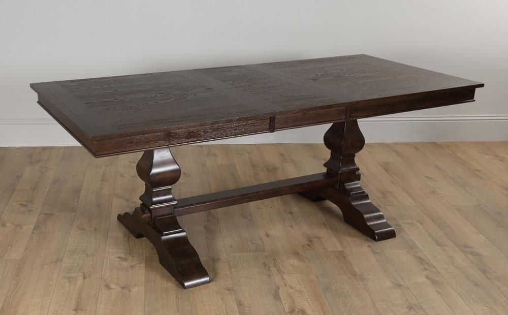 Cavendish Dark Wood Extending Dining Table 160 – 200Cm Only £ (Image 3 of 25)