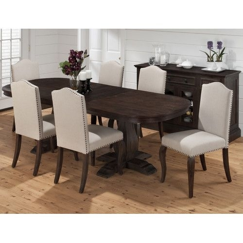 Cayuga Dining Table | Dining Room | Pinterest | Extendable Dining With Regard To Jaxon 7 Piece Rectangle Dining Sets With Upholstered Chairs (View 8 of 25)