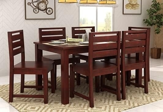 Chair Dining Tables Througho Six Chair Dining Table Set New Dining Intended For Dining Tables For Six (Image 9 of 25)