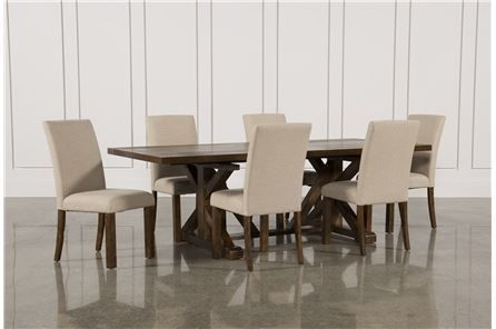 Featured Image of Chapleau Ii 7 Piece Extension Dining Tables With Side Chairs