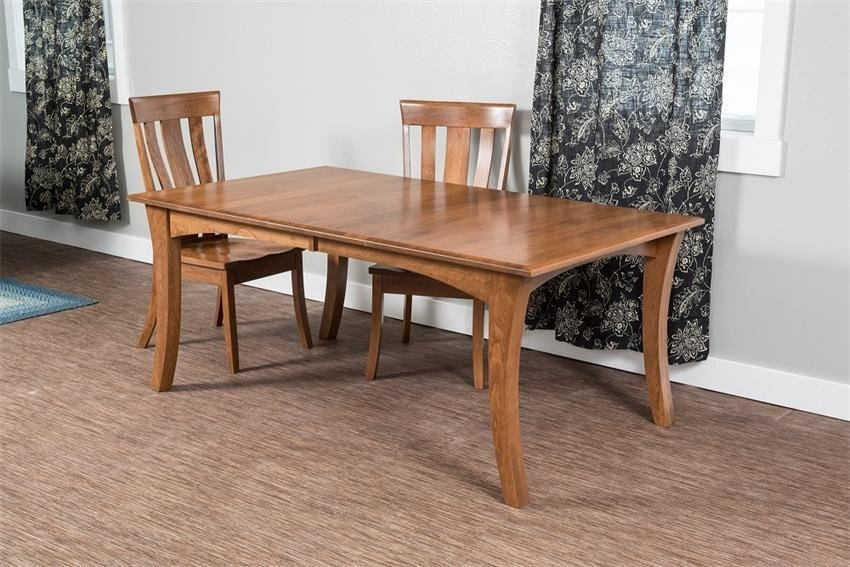 Chandler Dining Table From Dutchcrafters Amish Furniture Throughout Chandler Extension Dining Tables (Image 9 of 25)