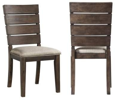 Chandler Fabric Side Chair In Combs 5 Piece 48 Inch Extension Dining Sets With Mindy Side Chairs (Image 5 of 25)