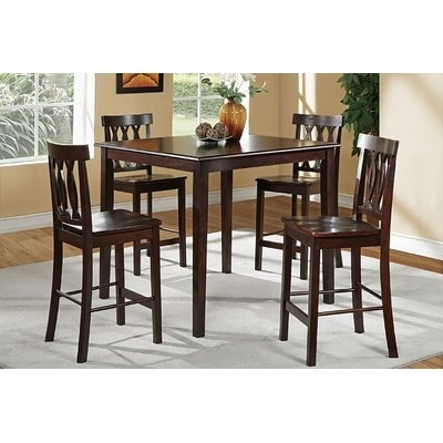 Charlton Home Cathrine 5 Piece Counter Heght Dining Set In 2018 Within Harper 5 Piece Counter Sets (View 24 of 25)