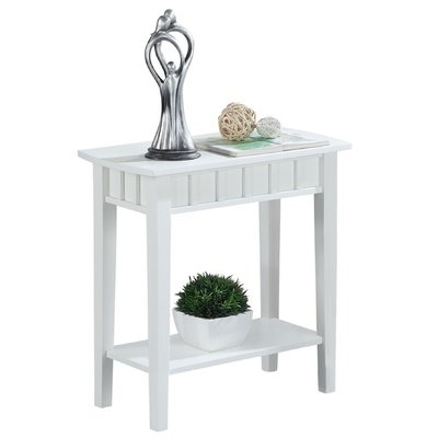 Charlton Home Versailles End Table & Reviews | Wayfair Inside Chapleau Extension Dining Tables (Image 9 of 25)
