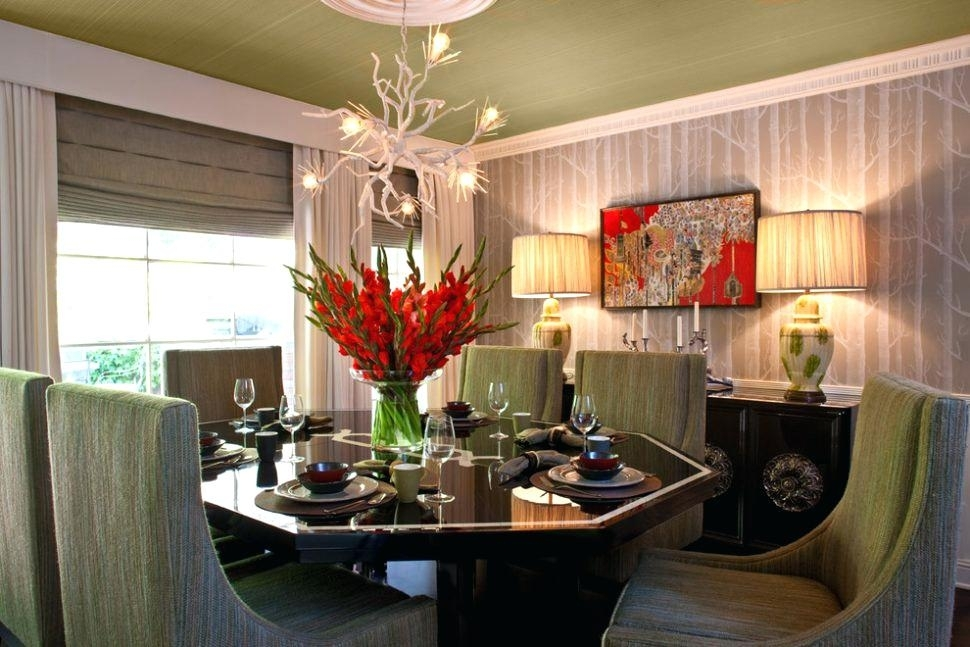 Charming Silk Flower Arrangements For Dining Room Table – Dining With Regard To Artificial Floral Arrangements For Dining Tables (Image 10 of 25)