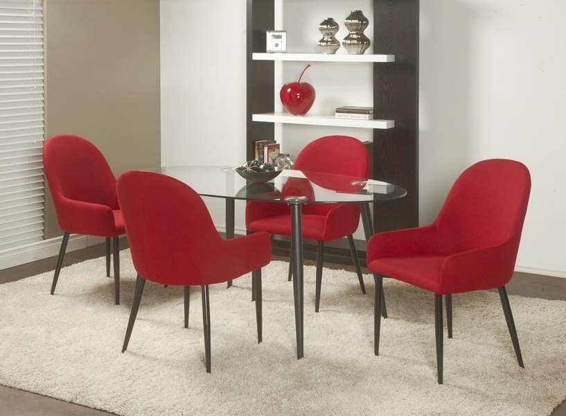Chateau Imports Is A Wholesale Distributor Of Quality Home Furnishing Regarding Red Dining Tables And Chairs (Image 5 of 25)