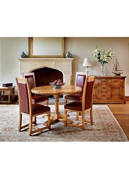 Chatsworth Round Dining Table – Potburys Of Sidmouth For Chatsworth Dining Tables (Image 12 of 25)