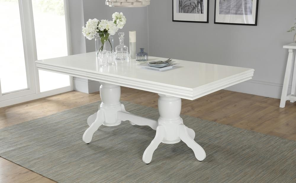 Chatsworth White Extending Dining Table 150 – 180Cm Only £ (Image 14 of 25)