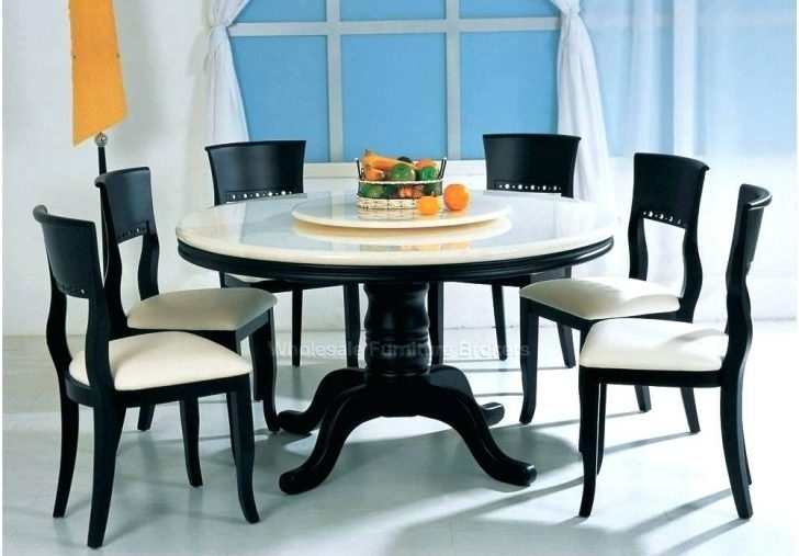 Cheap 6 Seater Dining Table And Chairs Tables Round Interior Design Throughout Ebay Dining Suites (Image 9 of 25)