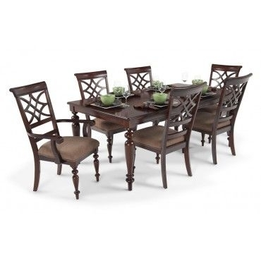 Cheap 7 Piece Dining Set | Abode Lovelies & Inspirations | Pinterest Throughout Helms 6 Piece Rectangle Dining Sets With Side Chairs (Image 5 of 25)