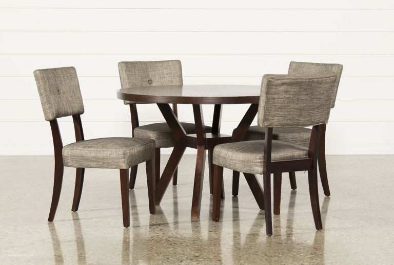 Cheap And Reviews Living Spaces Dining Tables Set And Dining Room Intended For Jaxon Grey 5 Piece Round Extension Dining Sets With Wood Chairs (View 21 of 25)