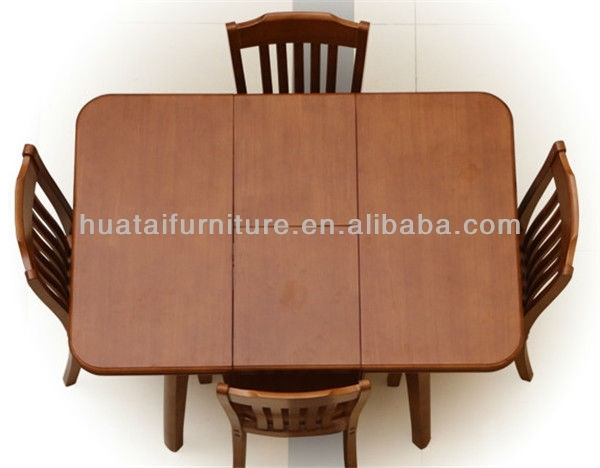 Cheap Dining Room Sets,table Sets Folding Solid Wood, Wooden Folding In Folding Dining Table And Chairs Sets (Image 4 of 25)