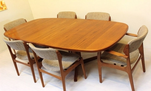 Cheap Dining Room Table And Chairs Mid Century Modern Dining Tables With Cheap Dining Tables (Image 8 of 25)