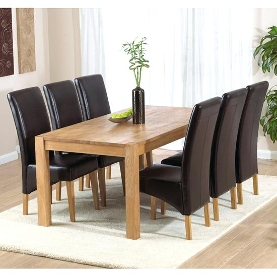 Cheap Dining Table With 6 Chairs Dining Room Miraculous 6 Dining Pertaining To 6 Seat Dining Tables (View 14 of 25)