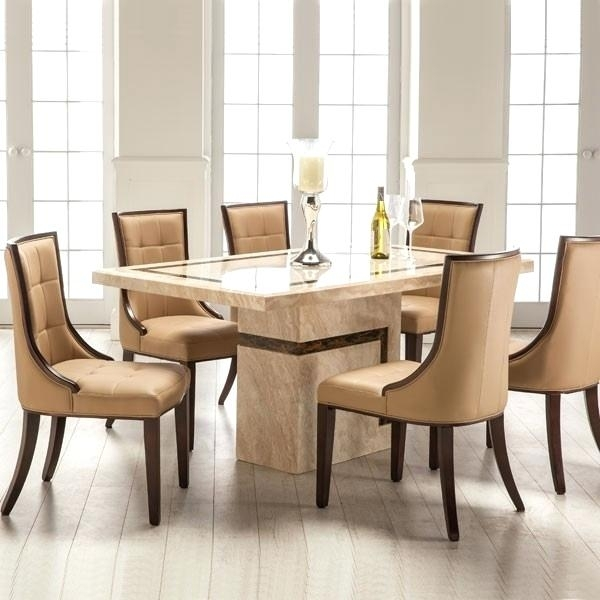 Cheap Dining Table With 6 Chairs Dining Room Miraculous 6 Dining Within 6 Chairs And Dining Tables (Image 13 of 25)