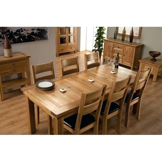 Cheap Dining Tables 6 Chairs Java Extending Dark Wood Dining Table 4 Pertaining To Oak Extending Dining Tables And 6 Chairs (Image 7 of 25)