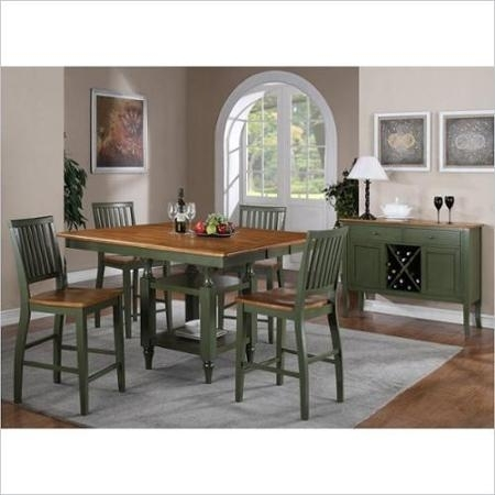 Cheap Green Dining Room Table, Find Green Dining Room Table Deals On In Candice Ii 7 Piece Extension Rectangle Dining Sets (Image 5 of 25)