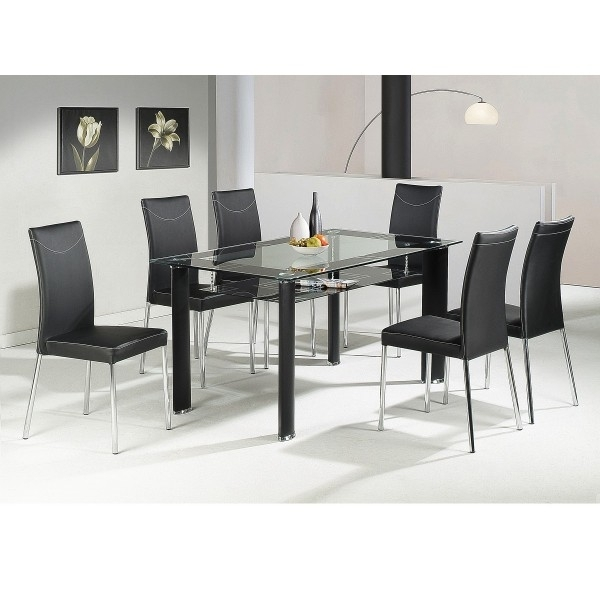 Cheap Heartlands Delano Glass Dining Table Set 4 Chairs Modern White For Cheap Glass Dining Tables And 4 Chairs (View 22 of 25)