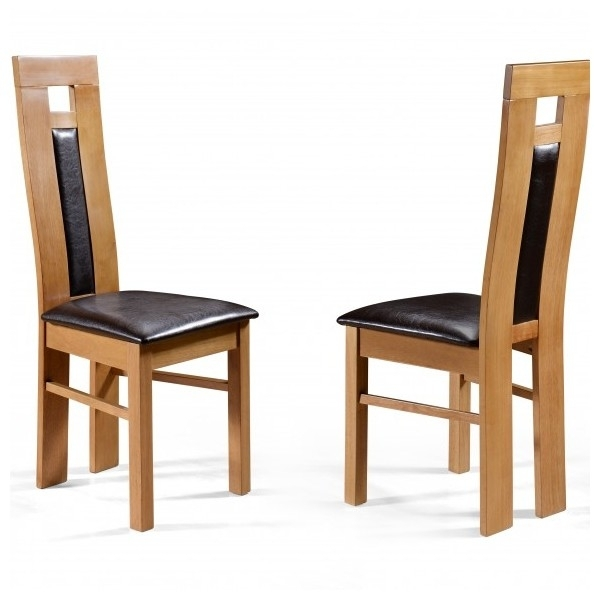 Cheap Ifc Windsor Oak Dining Table Set & 6 Eliza Chairs For Sale With Cheap Oak Dining Sets (Image 4 of 25)