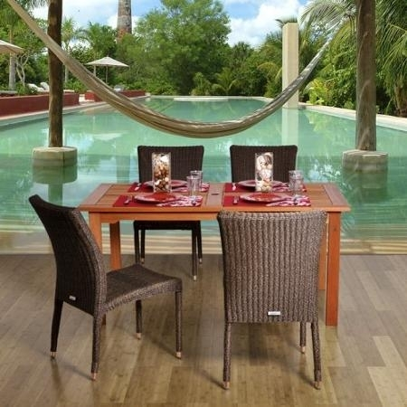 Cheap Patio Set, Find Patio Set Deals On Line At Alibaba With Grady 5 Piece Round Dining Sets (Image 4 of 25)