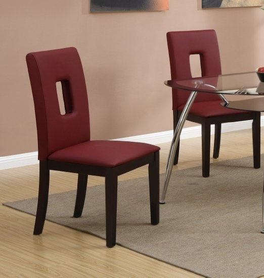 Cheap Red Leather Dining Set, Find Red Leather Dining Set Deals On Within Red Leather Dining Chairs (Image 5 of 25)