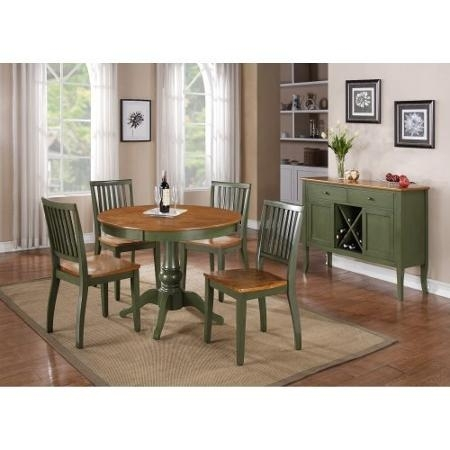 Cheap Two Tone Dining, Find Two Tone Dining Deals On Line At Alibaba Regarding Candice Ii 7 Piece Extension Rectangular Dining Sets With Slat Back Side Chairs (Image 12 of 25)