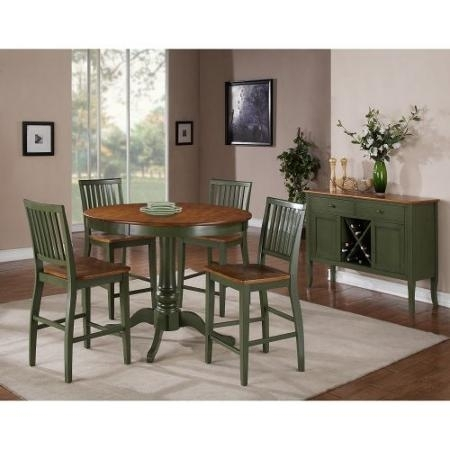Cheap Two Tone Dining Room, Find Two Tone Dining Room Deals On Line With Regard To Candice Ii 5 Piece Round Dining Sets With Slat Back Side Chairs (Image 18 of 25)