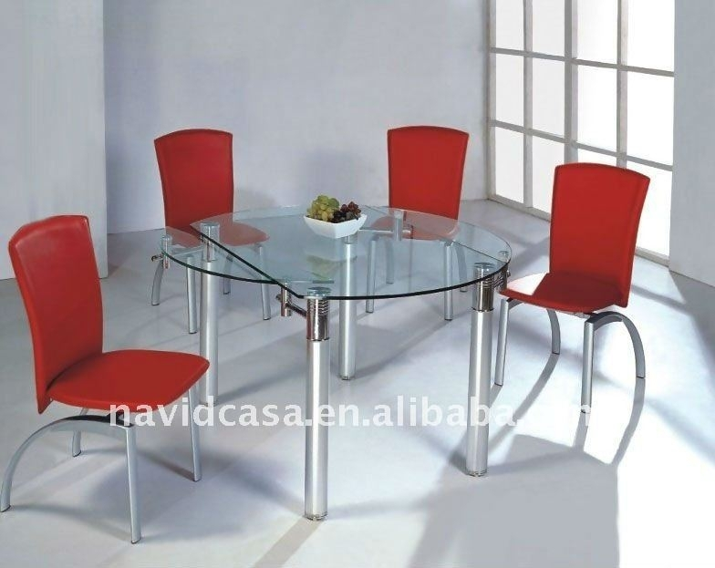 Cheap Wholesale Modern Glass Folding Kitchen Tables – Buy Folding Intended For Glass Folding Dining Tables (View 2 of 25)