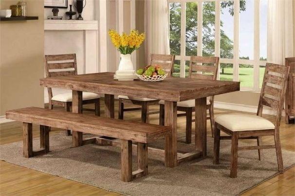 Chelmsford Dining Set Pertaining To Helms Rectangle Dining Tables (Image 3 of 25)
