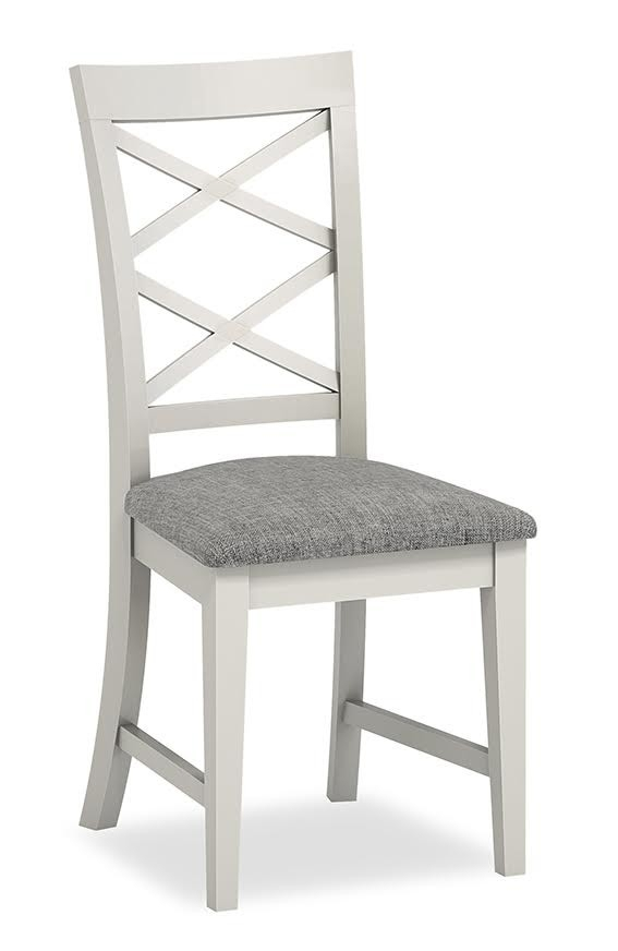 Chester Dining Chair ( Grey/ Grey) With Chester Dining Chairs (Image 7 of 25)