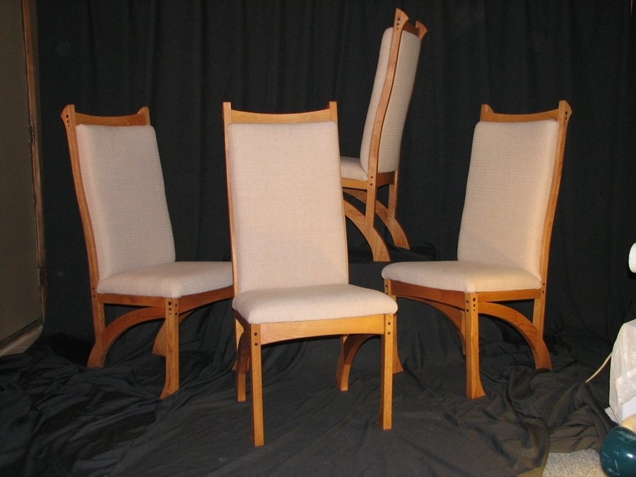 Chester Dining Chairs  Bearkatwood @ Lumberjocks With Regard To Chester Dining Chairs (Image 12 of 25)