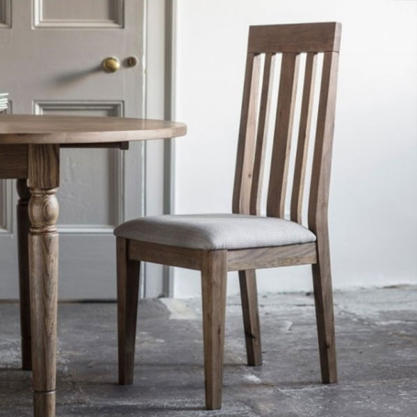 Chester Oak Dining Chair With Chester Dining Chairs (Image 17 of 25)