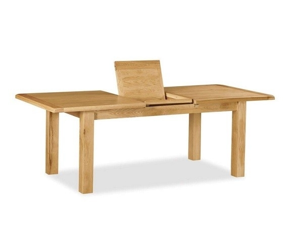 Chester Small Extending Dining Table | Gillies For Small Extending Dining Tables (Image 4 of 25)